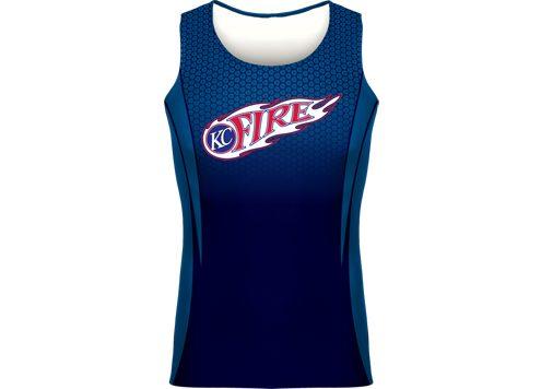 KC FIRE Track Club uniform